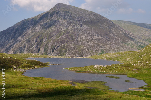canvas print picture Llyn Idwal