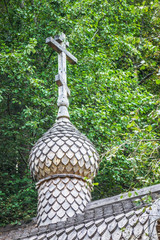 Wooden dome of Orthodox church