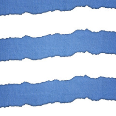 Blue and white horizontal stripes