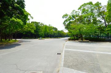 Osaka Castle Park, Osaka, Japan