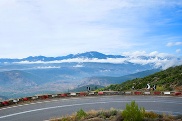The scenic road
