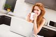 Kaffee in der Küche