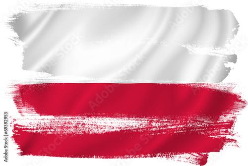 Obraz na płótnie Poland flag