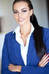 Beautiful stylish self-assured young woman