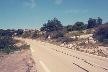 Route du Col de Vence