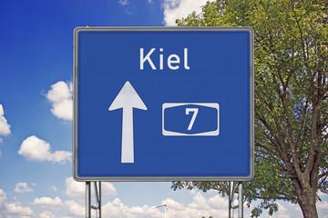 A7 Richtung Kiel