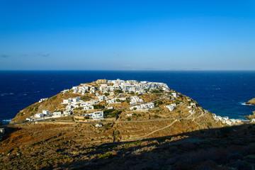Le village de Kastro à Sifnos