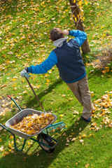 Lazy garden cleaning
