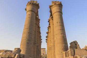 Columnas del Templo de Luxor