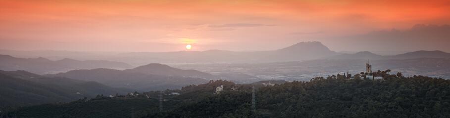 Carpathian mountain valley