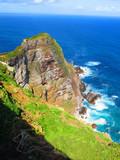 Cabo da Boa Esperança com mar azul