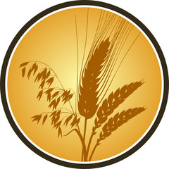 Getreide Label