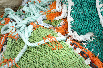 Fishing nets, texture