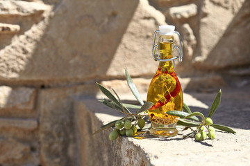 Aromatic olive oil