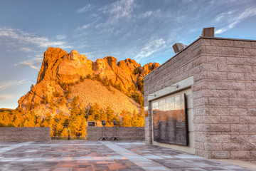 Mount Rushmore Sunrise