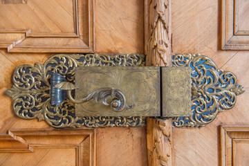 Historisches Türschloss