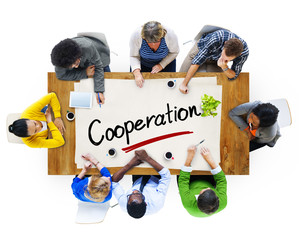Multiethnic Group with Cooperation Concept