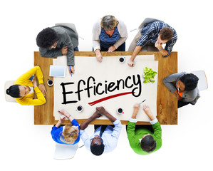 Group of People Discussing About Efficiency