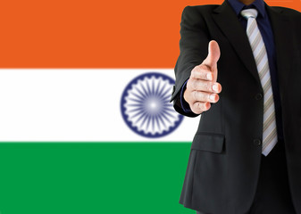 handshake in indian