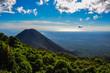 Leinwanddruck Bild - Izalco Volcano from Cerro Verde National Park, El Salvador