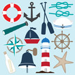 Nautical Objects Collection - 69400963