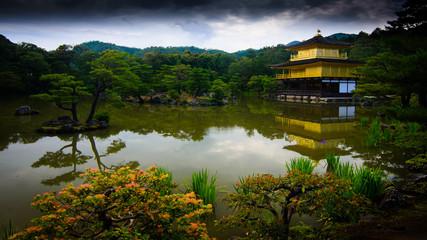 Kinkakuji in Panorama