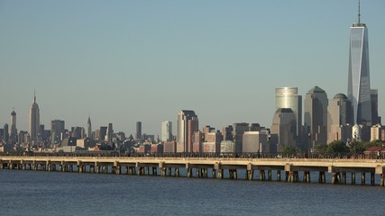 Coastal City, Urban Area, Buildings, Pier