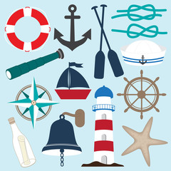 Nautical Objects Collection