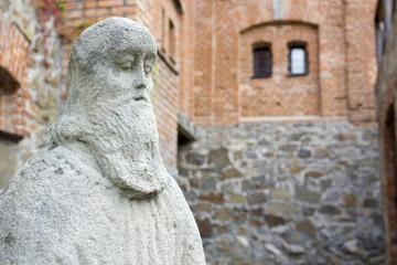 Stone sculpture of sage