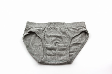 Gray Male underwear.
