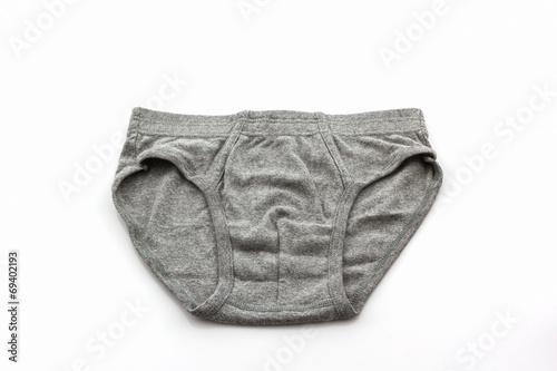 Gray Male underwear. - 69402193