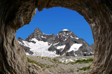 Beautiful mount Ober Gabelhorn - Swiss alps