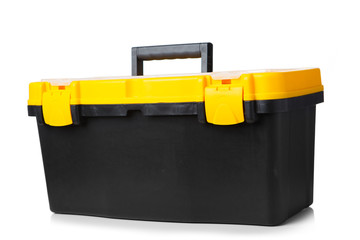 tool box isolated on white