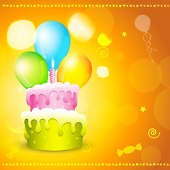 greeting card of birthday