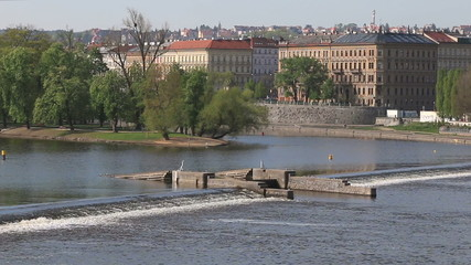 Dam on the Vltava River