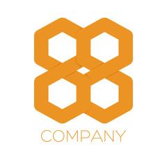 A symbol is a hexagon