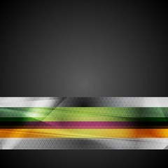 Bright stripes hi-tech background