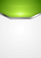 Vibrant corporate metallic design