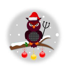 Gufo natalizio