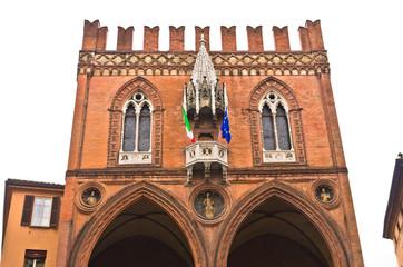 Palazzo della Mercanzia, medieval customs office at Bologna