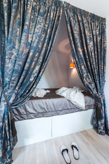 Bedroom canopy bed