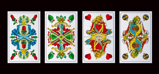 Spielkarten ASSE - Schafkopf und Tarok