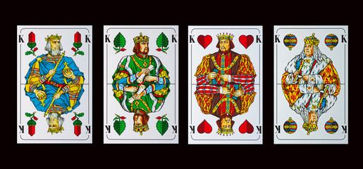 Spielkarten KÖNIGE - Schafkopf und Tarock
