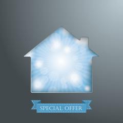 House Hole Dark Edition Blue Sky