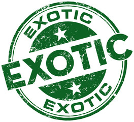 exotic stamp