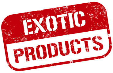 exotic products stamp