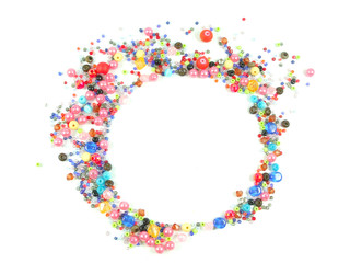 Collection of Colorful Beads Decoration