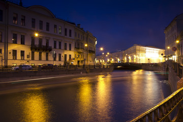 Evening St. Petersburg ,Russia