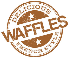 waffles stamp