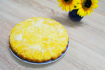 ananas and coconut cake